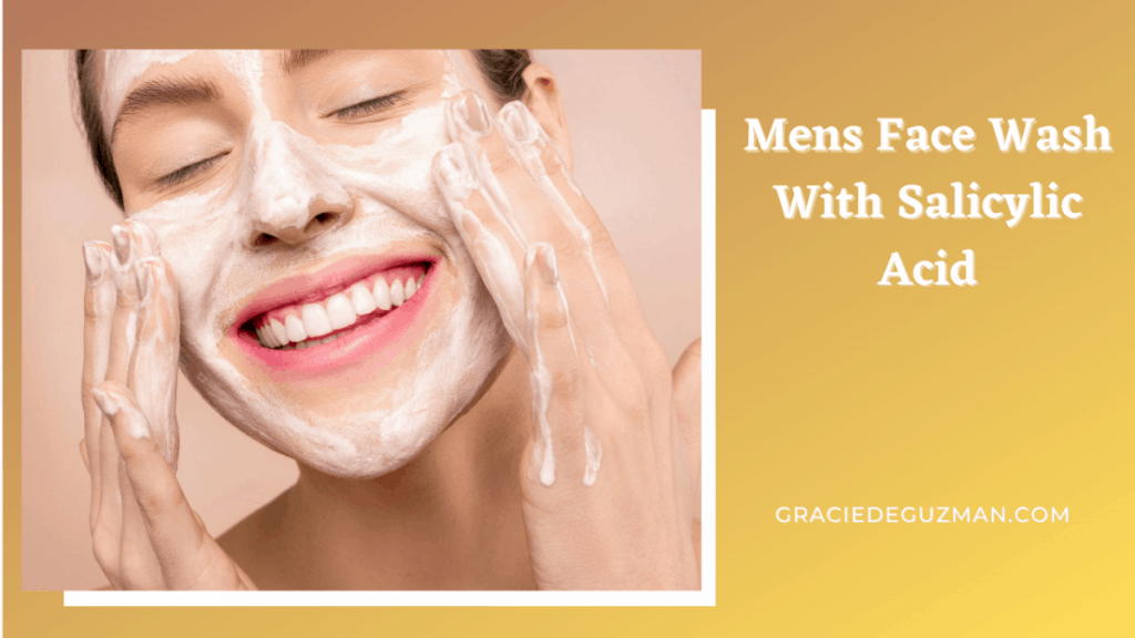 Mens Face Wash With Salicylic Acid