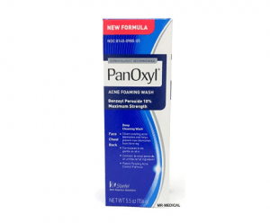 PanOxyl Acne Foaming Wash, 10% Benzoyl Peroxide
