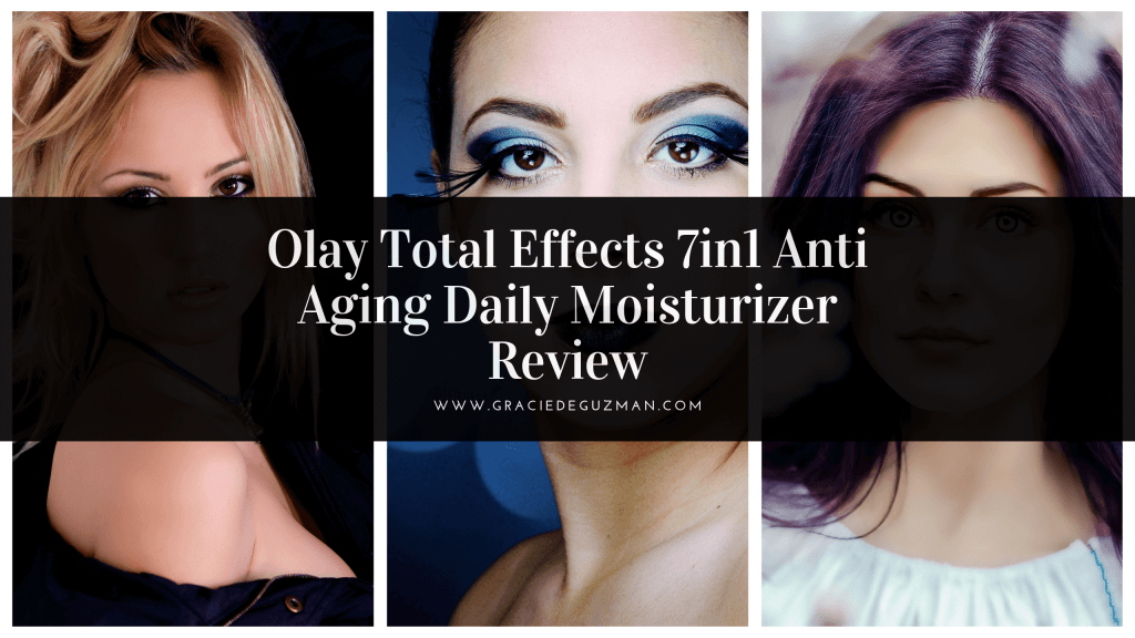 the ultimate Olay Total Effects 7in1 Anti Aging Daily Moisturizer Review
