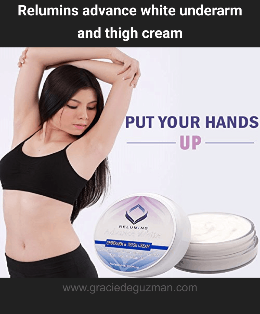 Relumins advance white underarm and thigh cream