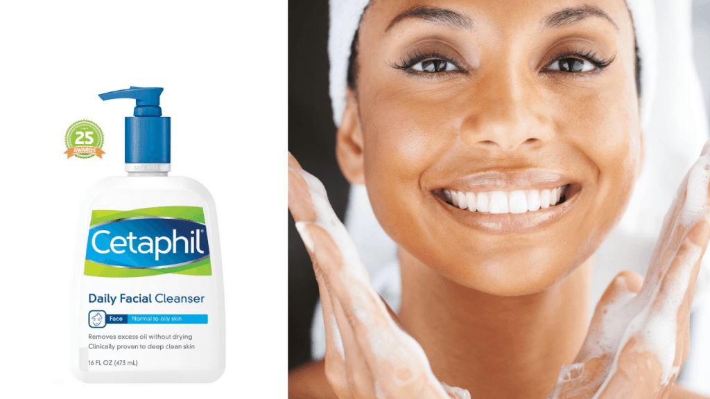 Is Cetaphil Daily Facial Cleanser good for oily skin?