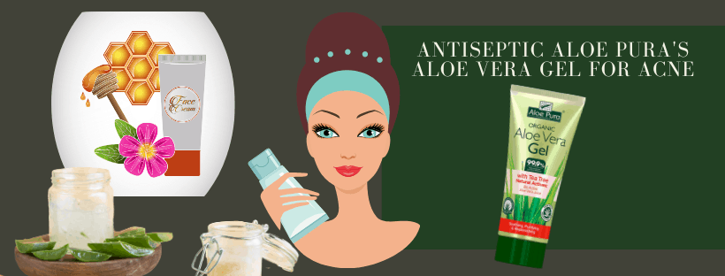 Aloe Pura Aloe Vera Gel with Tea Tree Oil